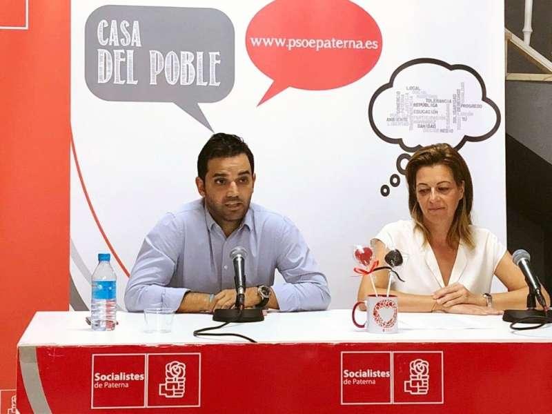 Presentación precampaña electoral socialista de Sagredo.