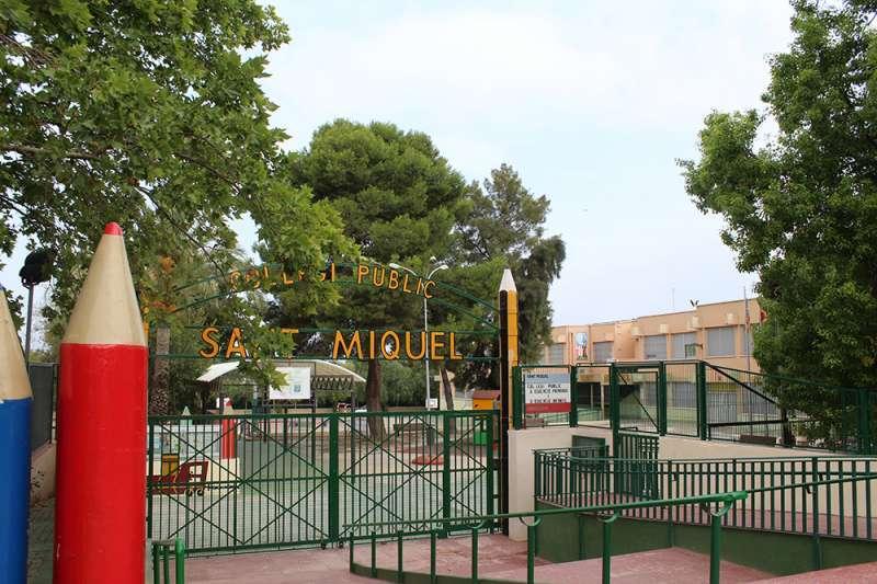 Colegio público San Miguel de Llíria. / EPDA