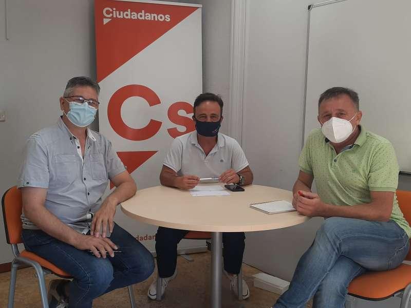 Reunión entre Ciudadanos y Comisiones Obreras. / EPDA