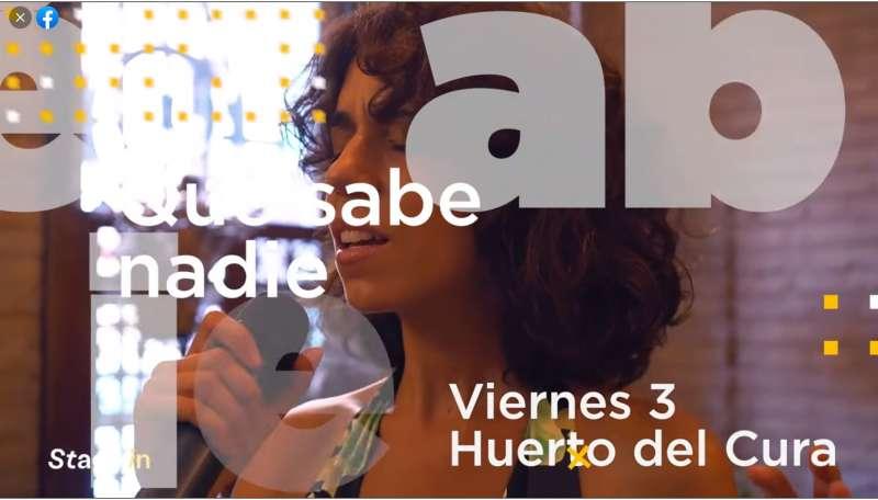 Captura del vídeo promocional