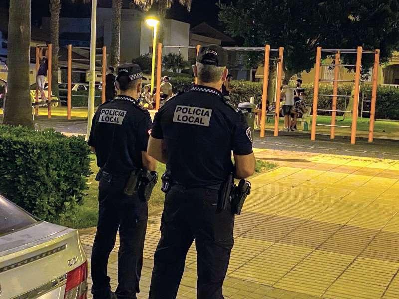 Policía de Sueca./EPDA