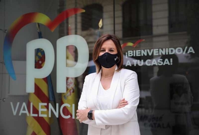 La portavoz del PP en el Ayuntamiento de València, María José Catalá, en una imagen de archivo. EFE/Ana Escobar/Archivo