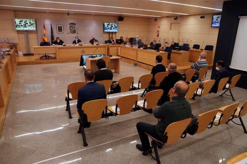 En la imagen, momento del juicio, celebrado en la Audiencia Nacional. EFE