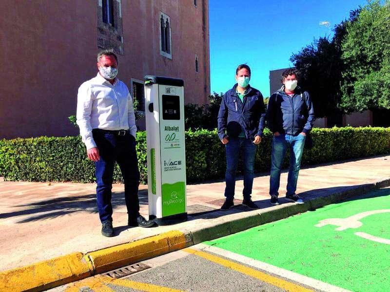 Els tres alcaldes en Albalat dels Sorells. EPDA