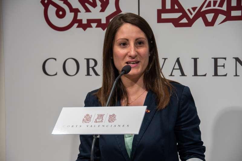 La portavoz del Grupo Parlamentario VOX Comunidad Valenciana, Ana Vega.