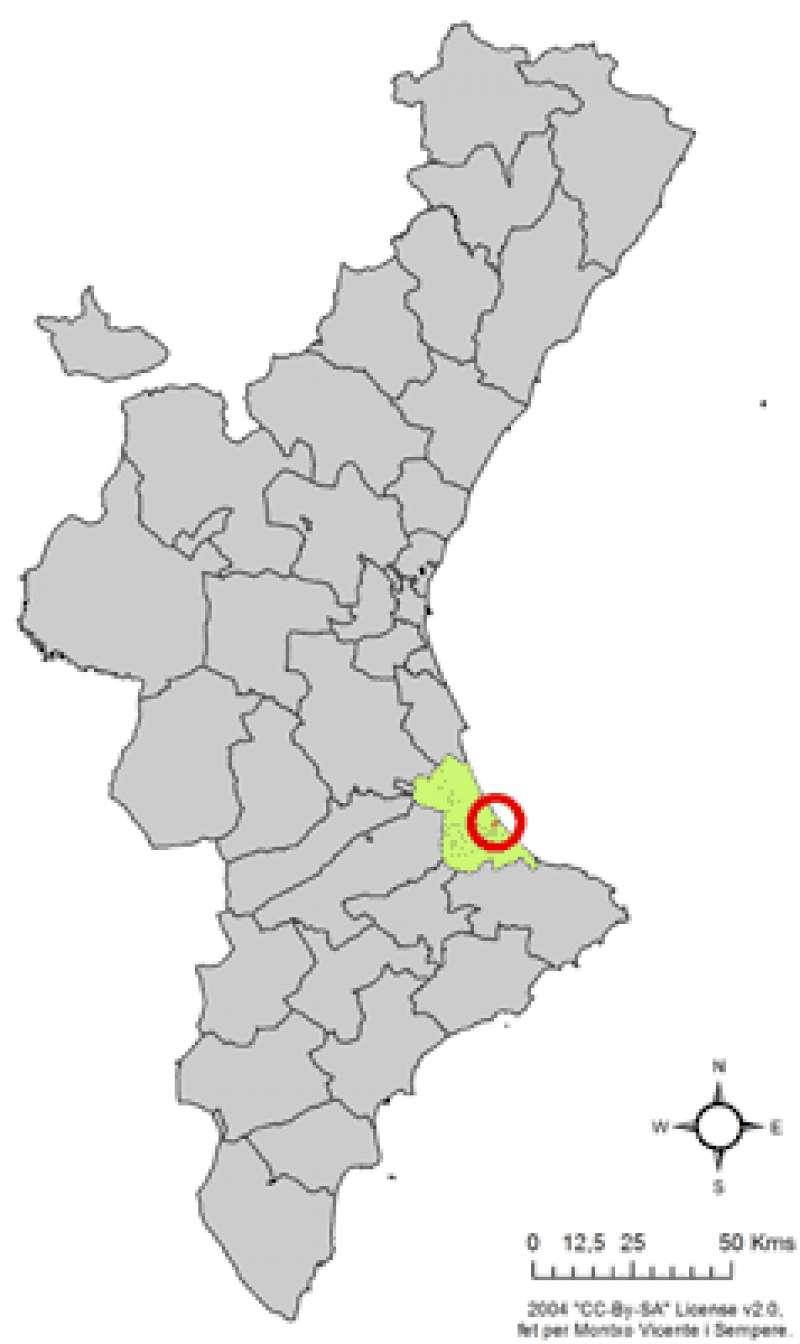 Mapa de LA SAFOR. EPDA