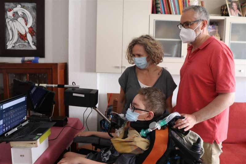 Imagen de la familia Camacho facilitada por el Ayuntamiento de Albal. EPDA