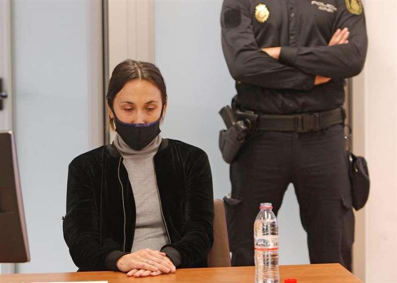 Alejandra G.P., acusada del asesinato de Dominique. EFE