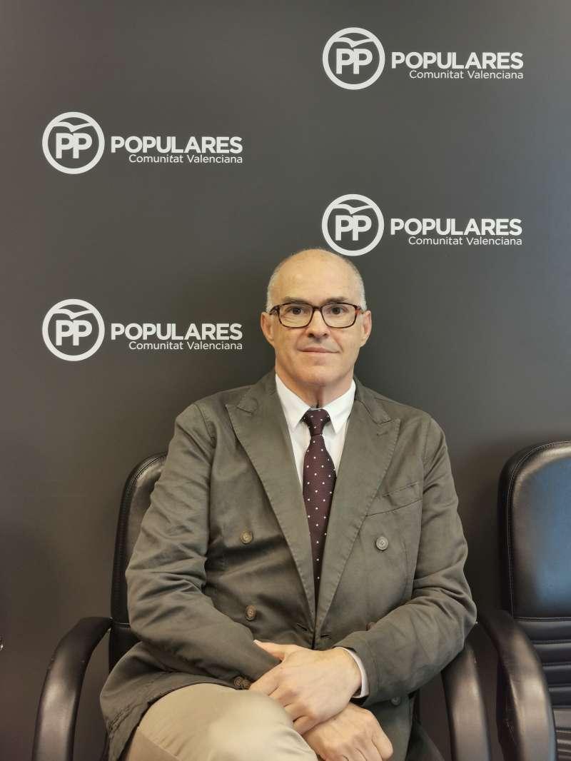 Fernando de Rosa, senador del PP. EPDA