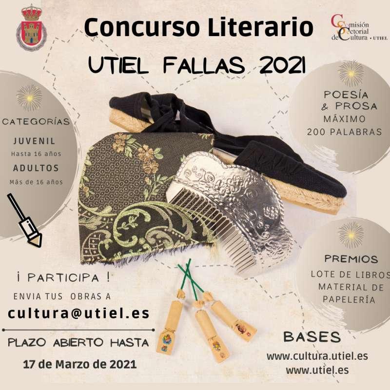 Cartel concurso literario