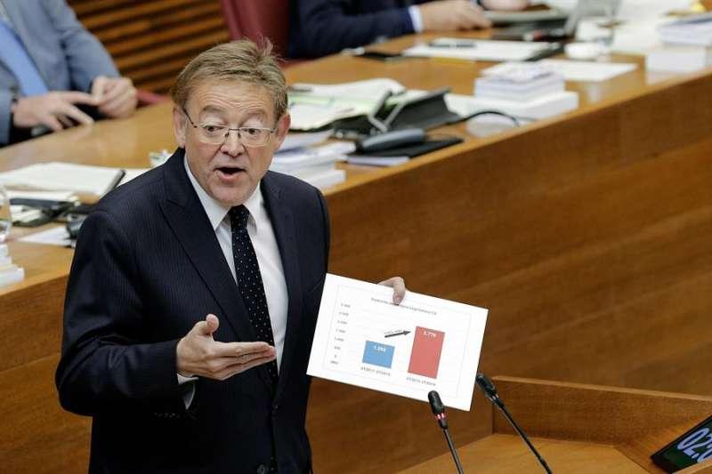 Ximo Puig, president de la Generalitat Valenciana.