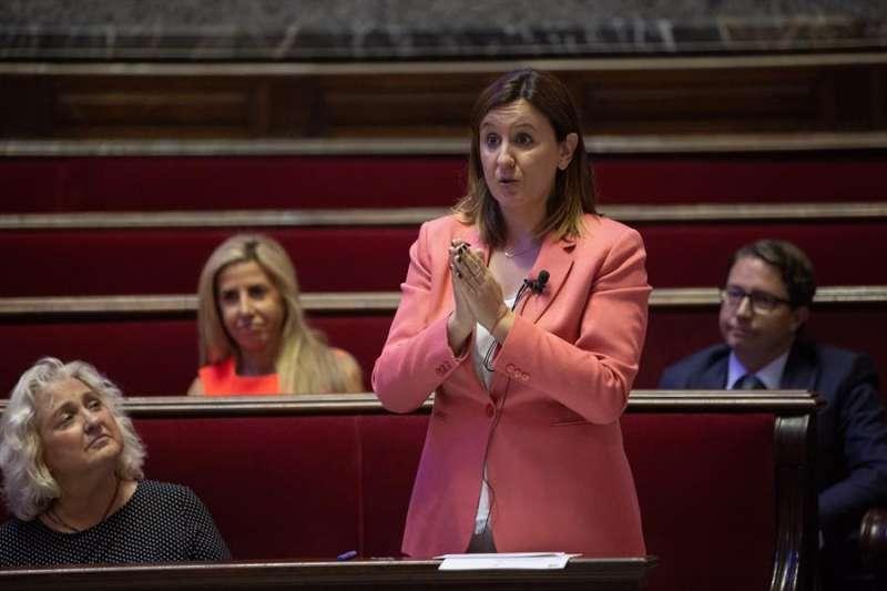 La portavoz del Grupo Popular, María José Catalá. Archivo/EPDA