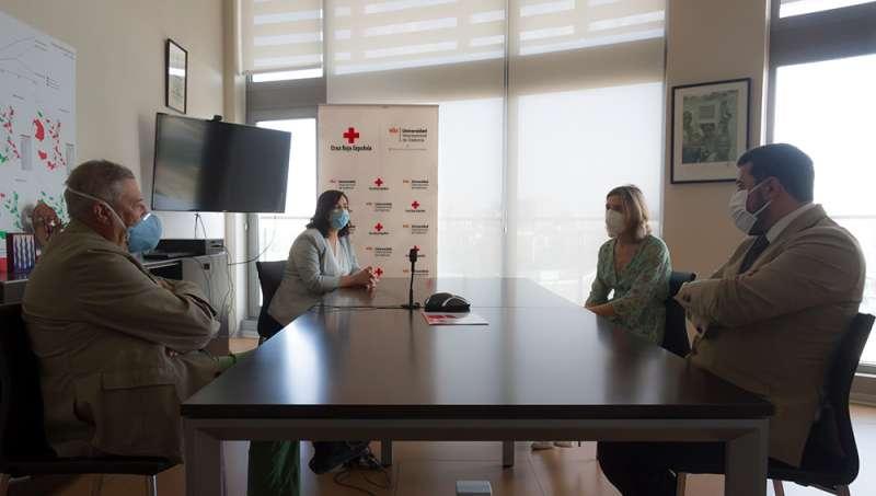 VIU y Cruz Roja. EPDA.