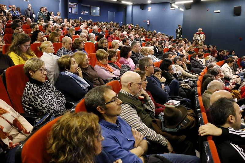 Público asistente al acto de Santiago Posteguillo. EPDA