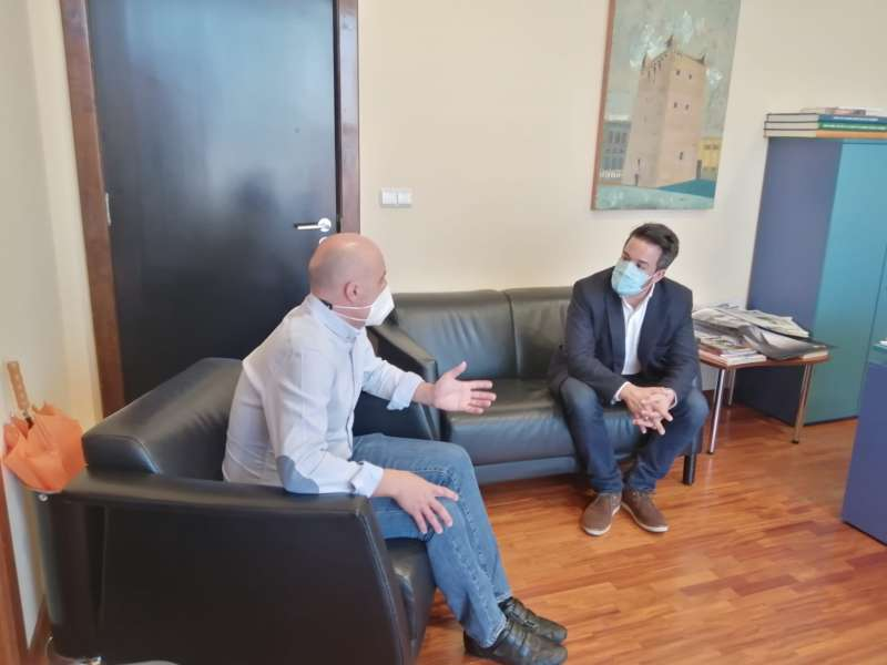 Raul Claramonte y Sergio Alfafro de C