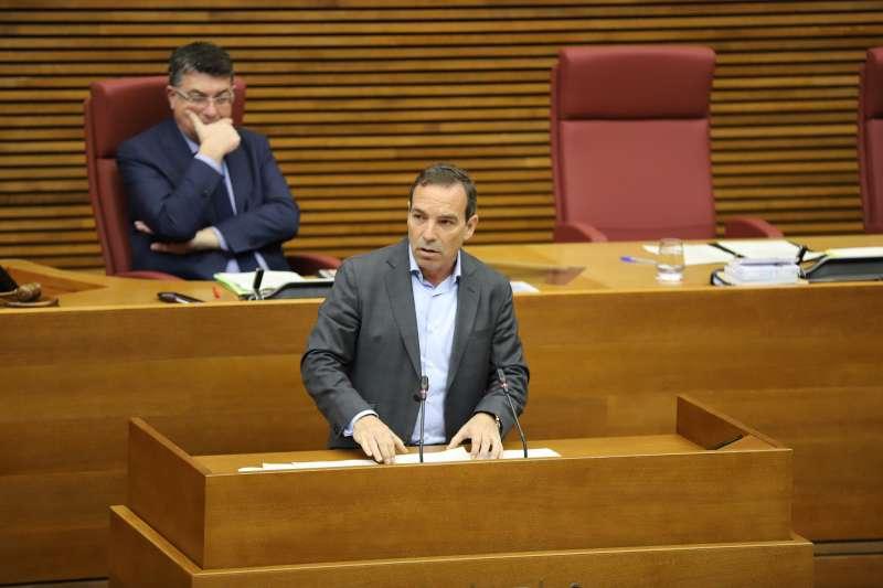 El diputado de Ciudadanos (Cs) en Les Corts valencianas Tony Woodward. EPDA
