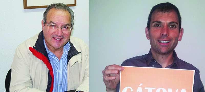 Leopoldo Romero y Manuel Martínez. //EPDA