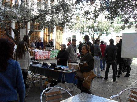 Imagen mercado justo y solidario celebrado en Quartell. EPDA