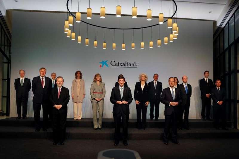La nueva CaixaBank, fruto de la fusión con Bankia, celebra su primer consejo de administración. EPDA