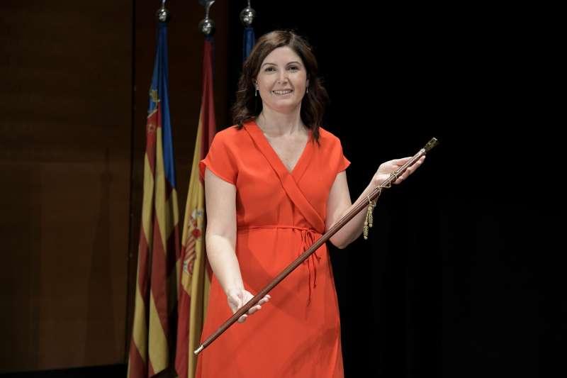 Maribel Albalat, alcaldessa socialista de Paiporta. EPDA