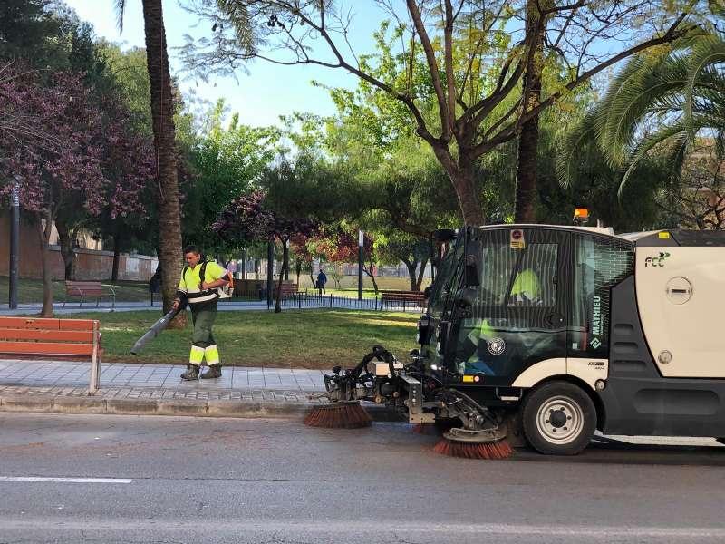Campaña de limpieza en Paterna. EPDA