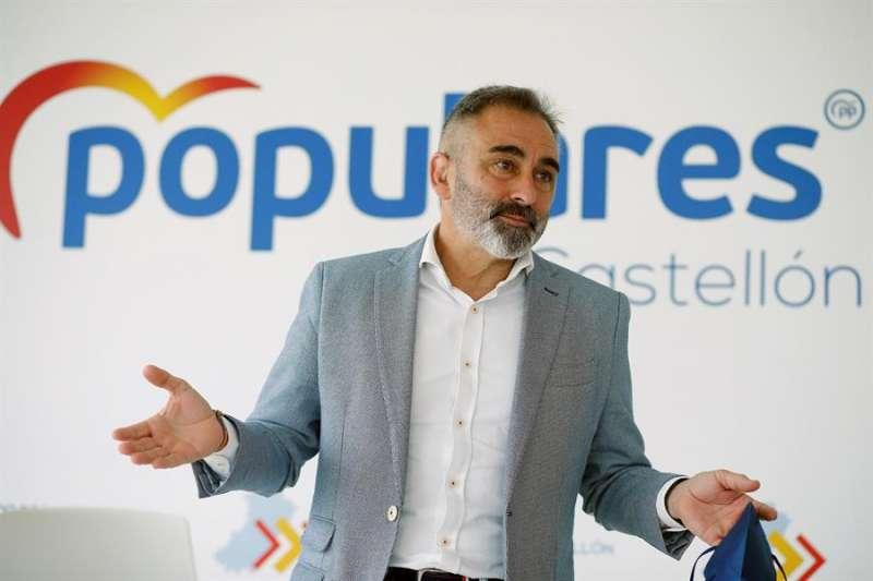 El presidente del Partido Popular en Castellón, Miguel Barrachina