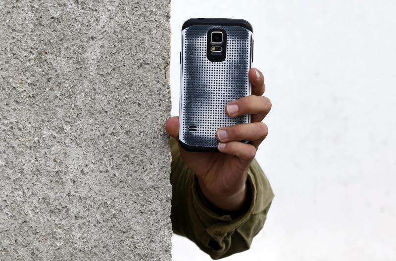 Imagen de un teléfono móvil. FOTO ARCHIVO
