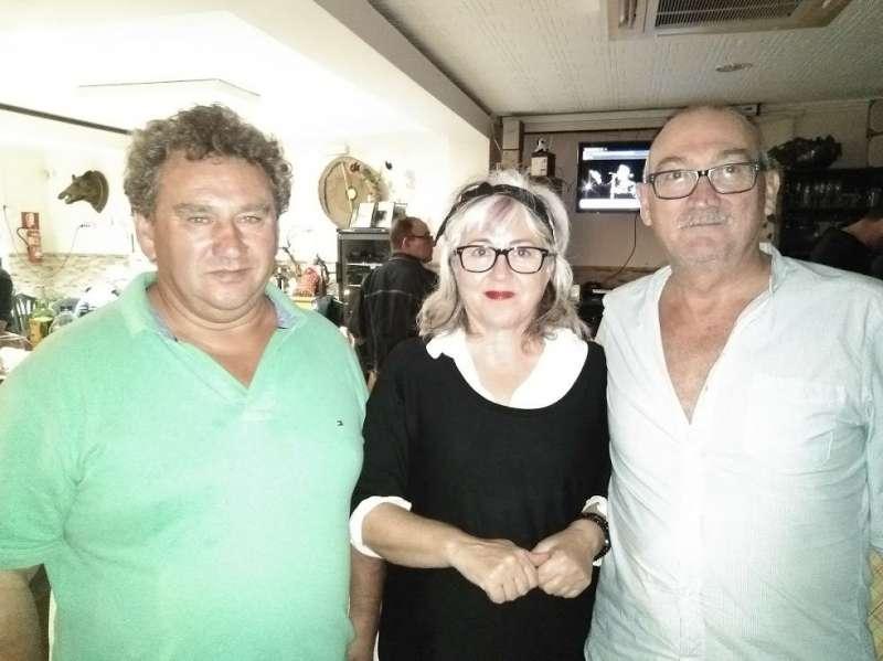 Contigo Gilet en el primer Ciclo de Blues de la localidad de Teresa. EPDA