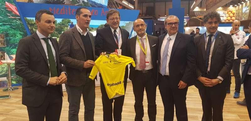 Presentación de la Volta Ciclista en Fitur. EPDA