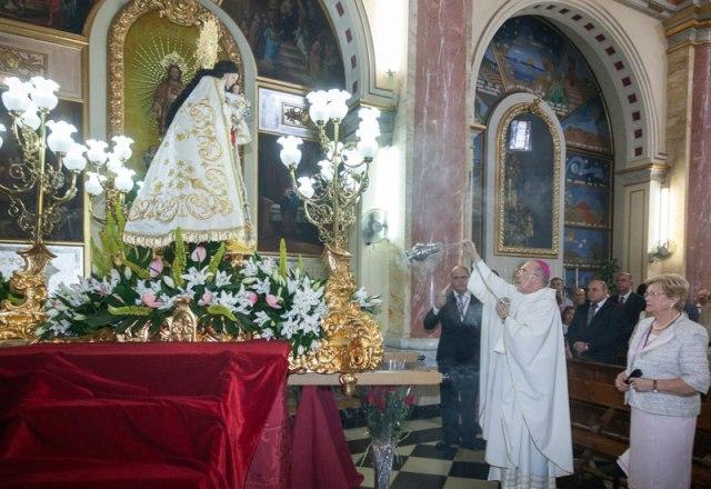 Imagen de la coronación. FOTO: MANOLO GUALLART