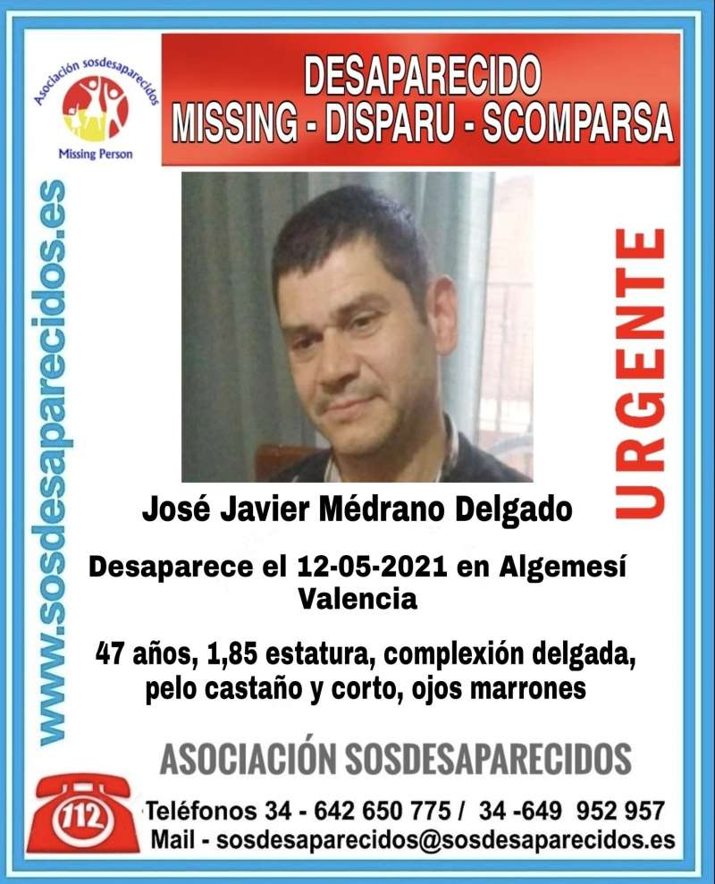 Foto SOS Desaparecidos