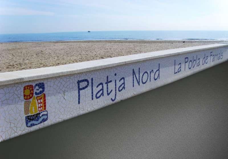 Una de las playas de La Pobla de Farnals. EPDA