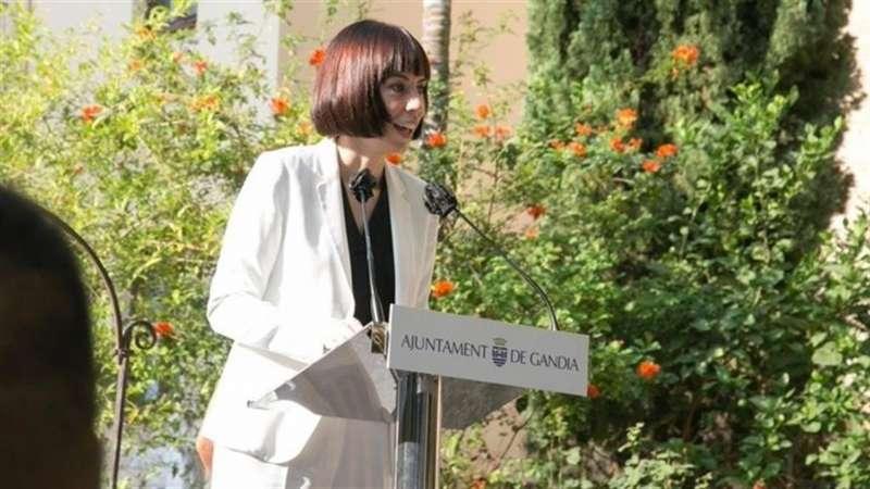 La ministra hoy en Gandía