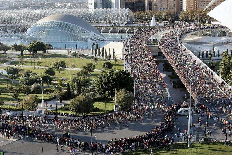 El maratón de València, un foco de atracción para el turismo deportivo. EFE/Archivo