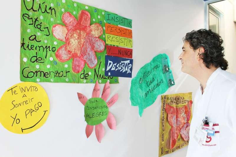 Exposición en el Hospital Vinalopó.