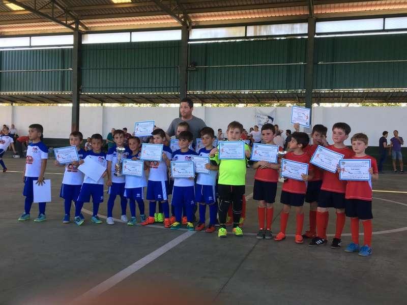 Equipo de Fútbol Sala, temporada 2019. / EPDA