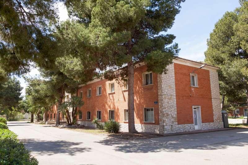 Cuartel Militar de Mislata que se convertirán en Residencia y Centro de Día para Mayores.