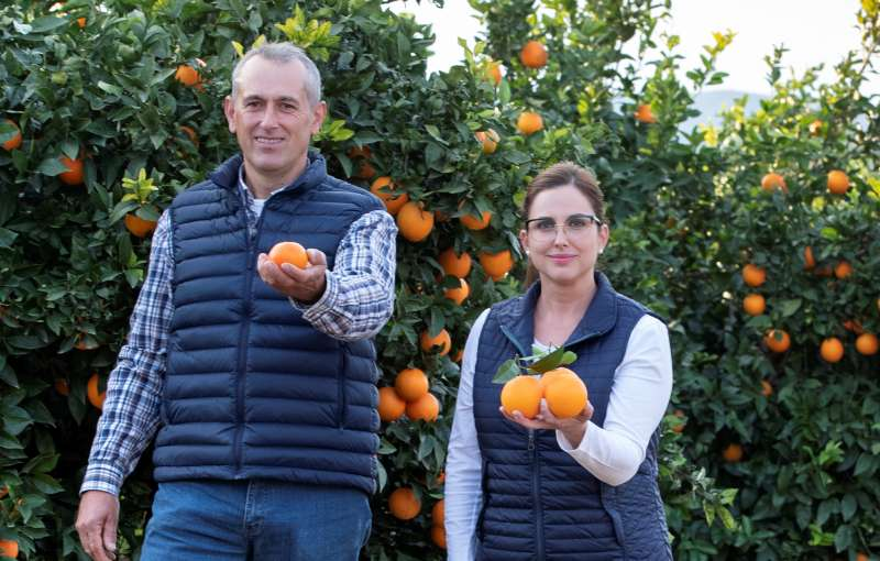 Agricultores de Pedralba. / EPDA