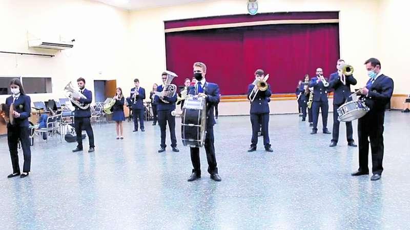 Concierto de Viernes Santo de la Unión Musical de Venta del Moro.  / EPDA