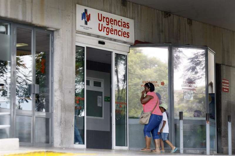 Acceso a Urgencias de un hospital. EFE
