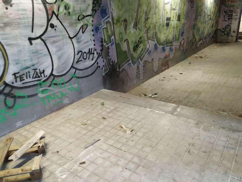 Túnel en Paterna. EPDA