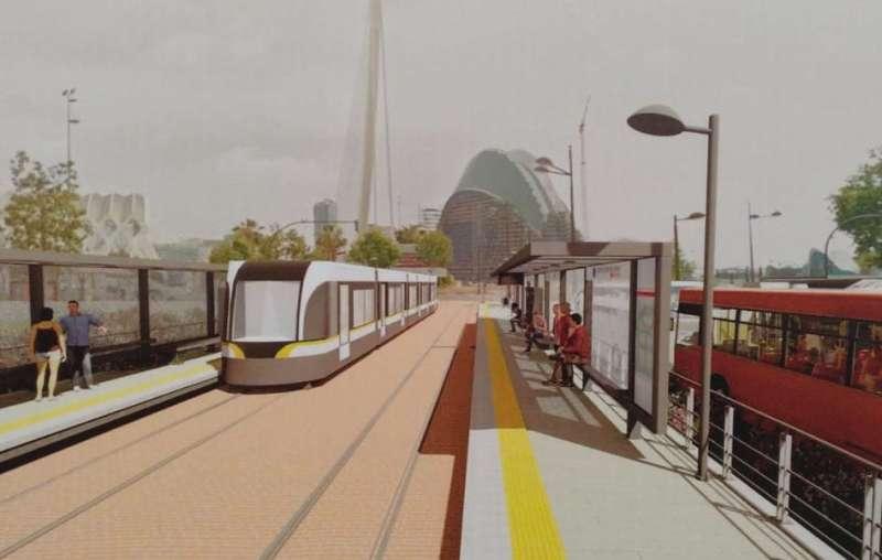 Línea 10 de Metrovalencia. EPDA
