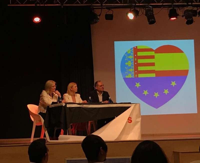Acto de Ciudadanos en Rafelbunyol. EPDA