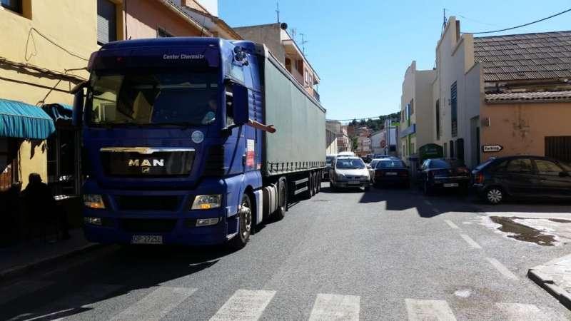 Variante Sur, en el municipio de Pedralba. / EPDA