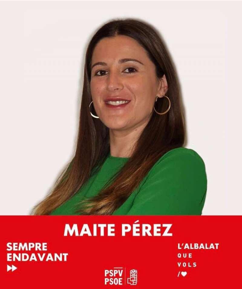 Maite Pérez. EPDA