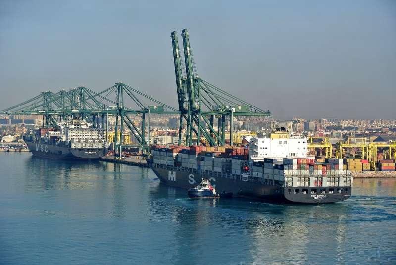 Puerto de València. Imagen de archivo.