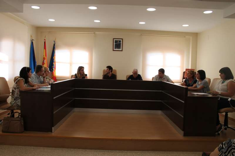Pleno del Ayuntamiento de Algímia. EPDA