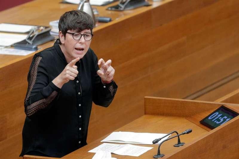La diputada de Unides Podem, Pilar Lima. EFE