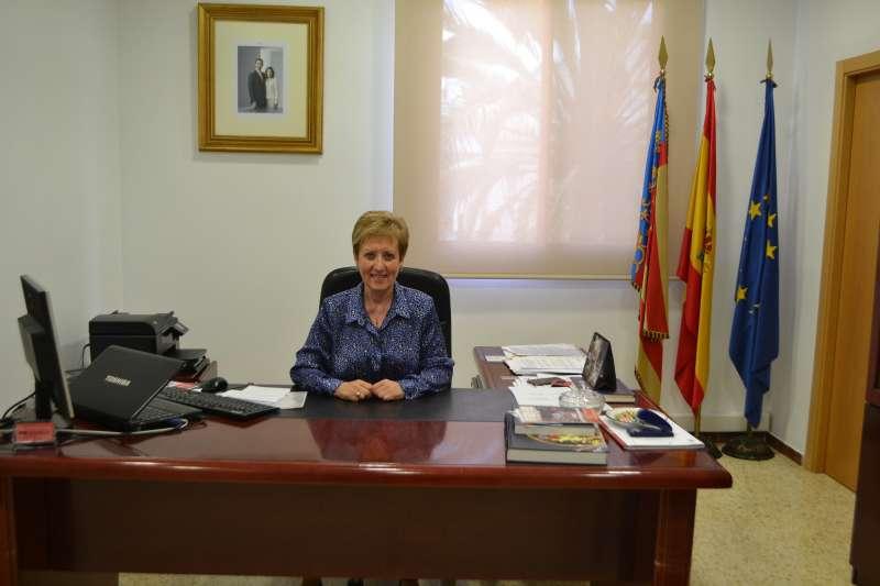 Luisa Salvador, alcaldesa de El Puig./PDA