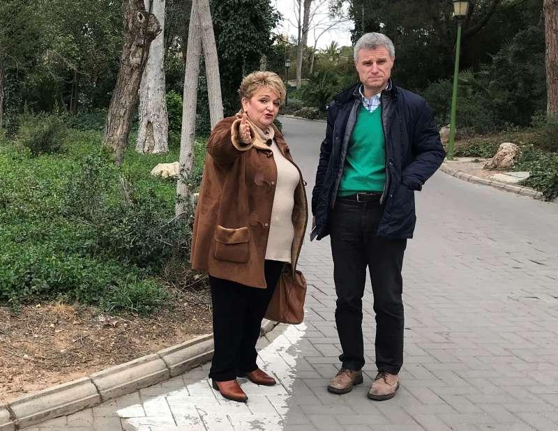 Merecedes Berenguer y Salva Torrent.